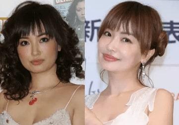 平子理沙 今の顔と若い頃の顔 画像