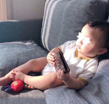 本田朋子 子供の写真