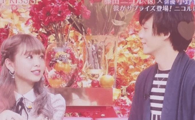 小野健斗とニコルの画像