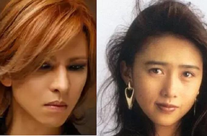 YOSHIKIと工藤静香の画像