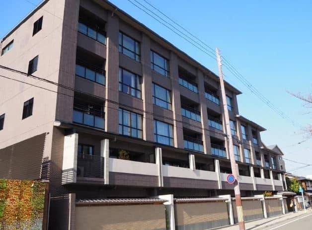 安室奈美恵が購入した京都マンションの写真