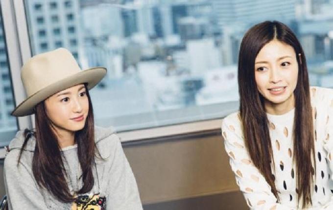片瀬那奈と沢尻エリカの画像