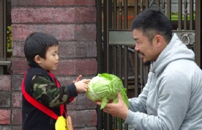 田中史朗の子供の画像