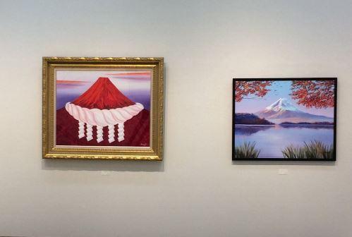 日馬富士の絵画作品の画像