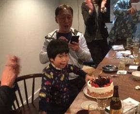 野田聖子の夫と子供の画像
