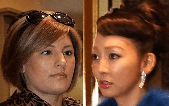 梅宮アンナと神田うのの画像