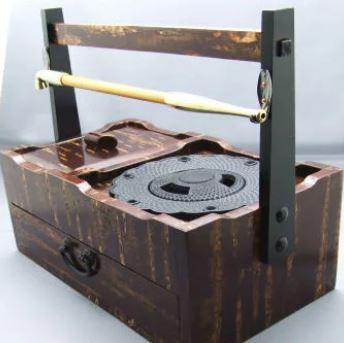 南部鉄器の灰皿画像