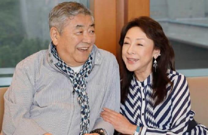 中尾彬と池波志乃の画像