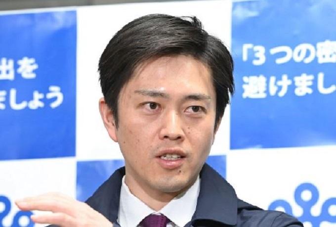 吉村洋文知事の画像