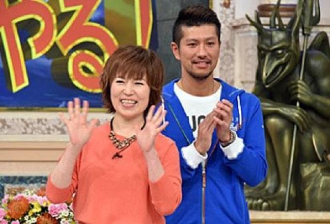 高橋東吾と磯野貴理子の画像